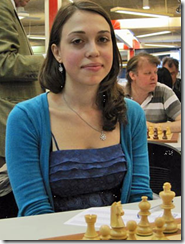 WIM Iona Padurariu of Romania, top female player