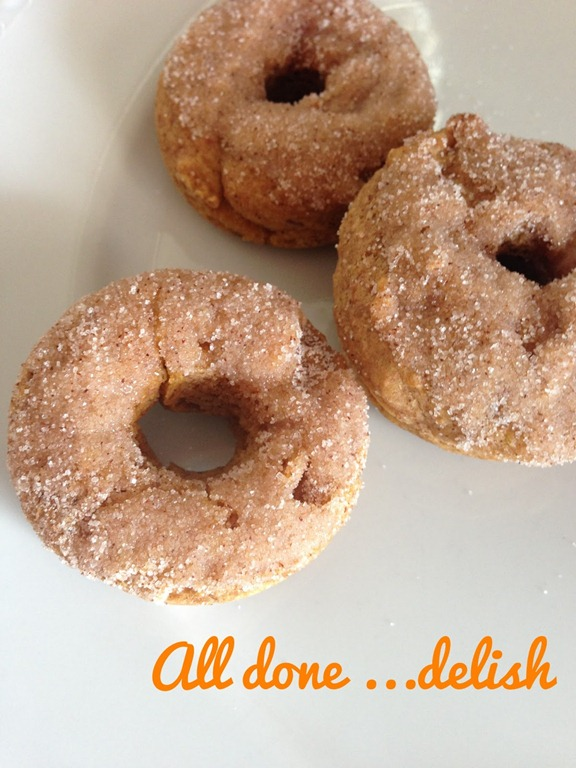 apple pumpkin donuts