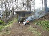 The hut at Cisentor, Argopuro (Dan Quinn, December 2012)