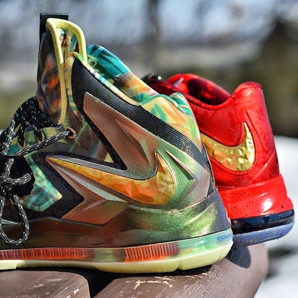 Reverse LeBron 10 Championship Pack is Real Take a Closer Look