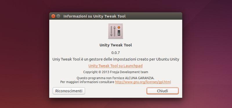 Unity Tweak Tool 0.0.7