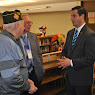Wall of Fame Visits Mahopac HS