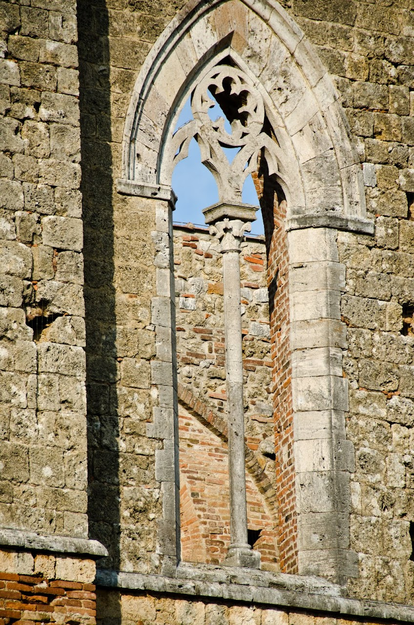 Windows at the Abbey of San Galgano