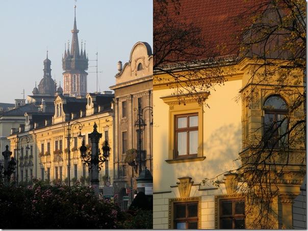 Poranny Kraków przed BodyART-em