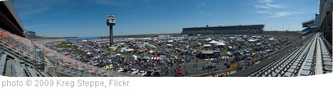 'Charlotte AutoFair at Lowe's Motor Speedway - Panorama' photo (c) 2009, Kreg Steppe - license: http://creativecommons.org/licenses/by-sa/2.0/