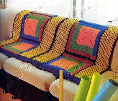 manta sofá