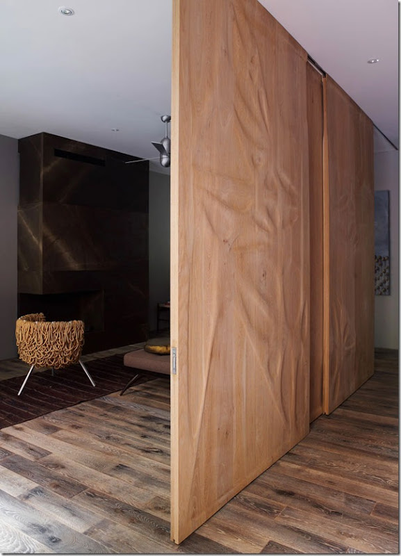 case e interni - Chelsea - casa moderna - tre piani (4)