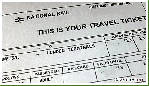 £7.50 Virgin Train Ticket