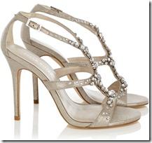 Karen Millen jewel sandal