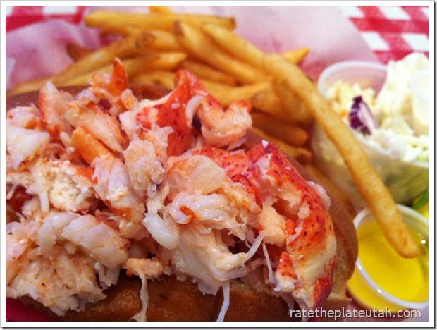 Old Port Lobster Shack Lobster Roll3