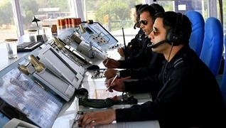 Indian Air Force [IAF] photograph - Air Traffic Controller [ATC]