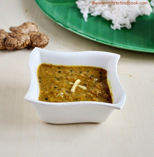 Ginger pachadi recipe
