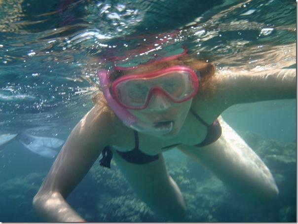 underwater Simona