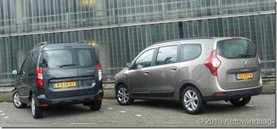 Dacia Dokker vs Dacia Lodgy 06