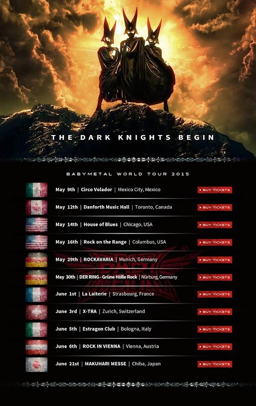 BABYMETAL_World tour 2015
