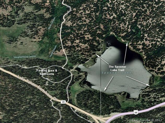 Spooner Lake Map