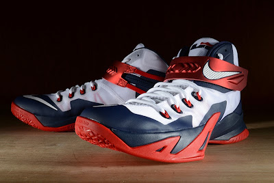 nike zoom soldier 8 gr usa basketball 2 07 Release Reminder: Nike Zoom LeBron Soldier 8 USA Basketball
