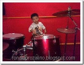 Violino Ridho Putra Kembali Berlatih Drum di JM 83 STUDIO (2)