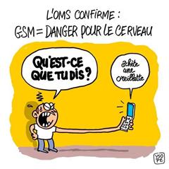 GSM danger pour le cerveau
