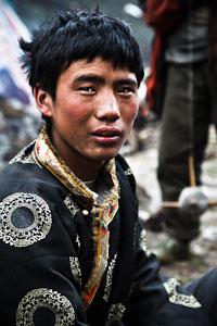 Tibetan Yak Herder