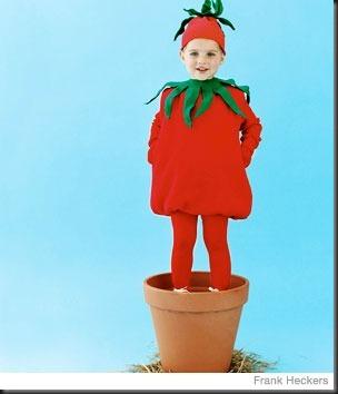 Disfraz casero de Tomate