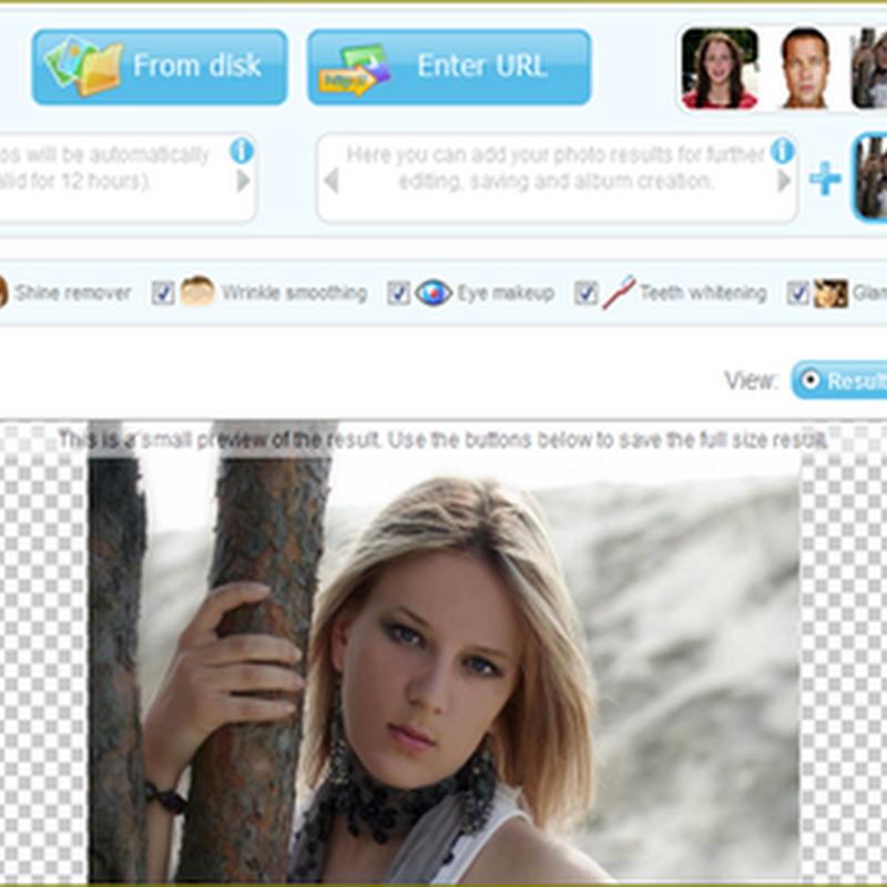 เวบไซต์ให้บริการ Make up ใบหน้าในโลกออนไลน์