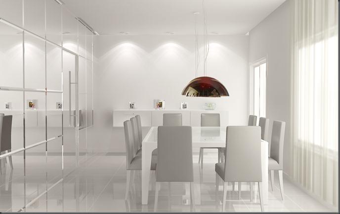 Interiores - sala de jantar 2
