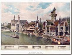 Le vieux Paris d'Albert Robida - Exposition  1900