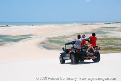 passeio de bugue nas dunas