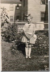 FINK_Freada as a young girl with bow in hair_New York