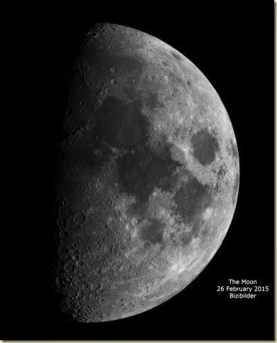 26 February 2015 Moon