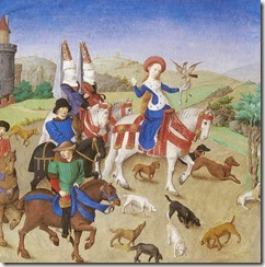 Livre-d-art-moyen-age-flamboyant-barthelemy-eyck-depart-chasse