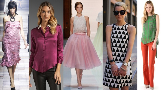 Five wearabl  fashion trends for spring 2014