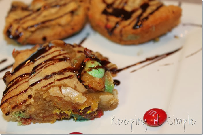#shop M&M blondies #BakingIdeas  (6)