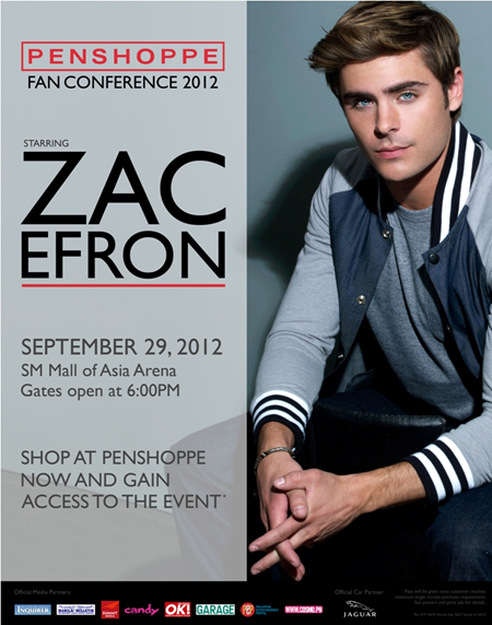 Penshoppe Fan Conference 2012 starring Zac Efron