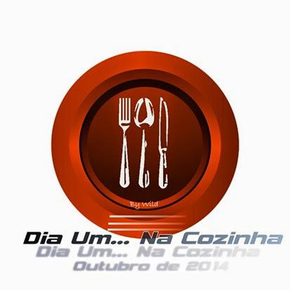Logotipo Dia Um... Na Cozinha Outubro 2014