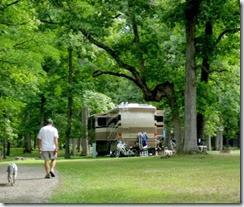 a - bluffton camp site