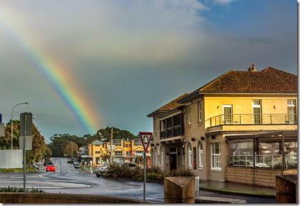 rainbow-over-husky