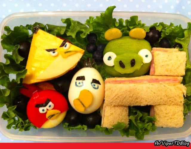 Almoço criativo.