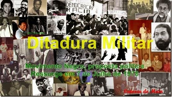 Ditadura Movimento Negro