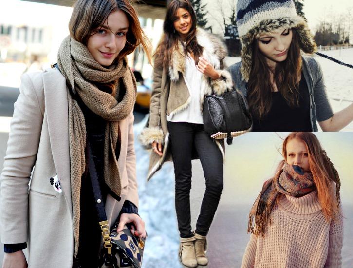 como usar roupas frio intenso looks