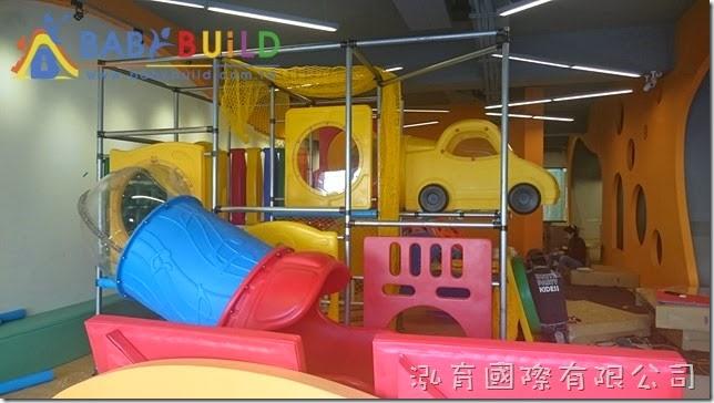 BabyBuild 室內3D泡管兒童遊戲設施施工組裝