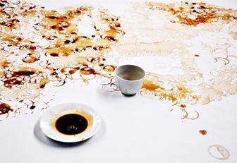arta cu cafea