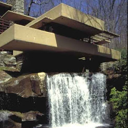 12.- F. Lloyd Wright. Casa de la Cascada