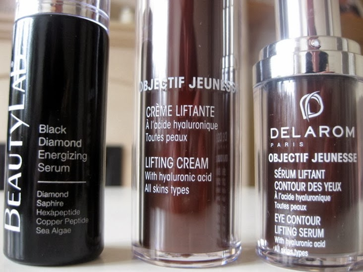 Beautylab-black-diamond-serum,Delarom-Lifting-Cream,Delarom-Eye-Contour-Lifting-Serum