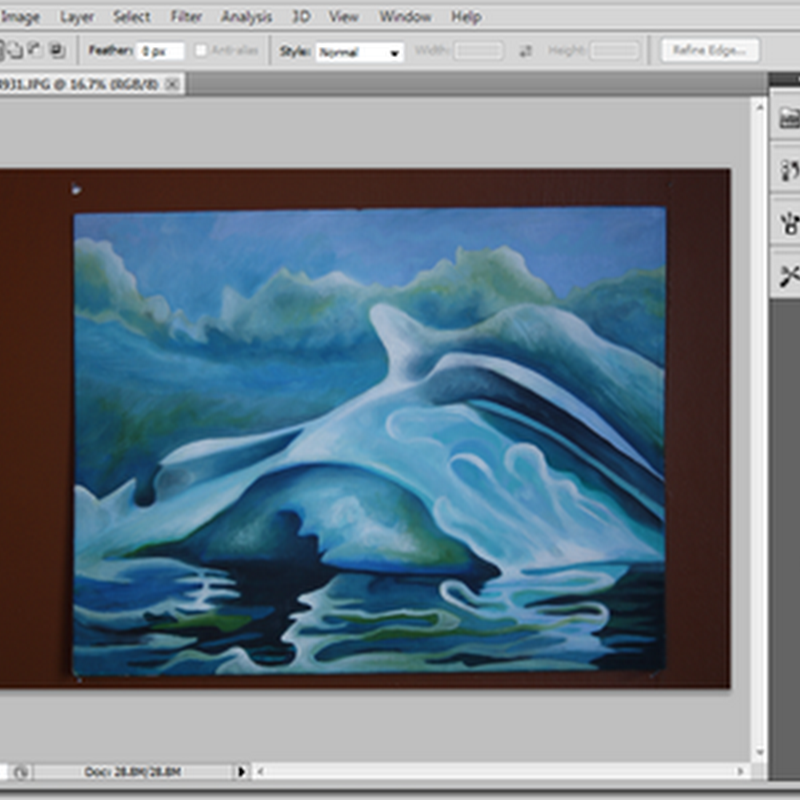 How to Use Photoshop to Optimize Photographs of Art – Part 1