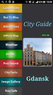 Gdansk  Offline Map Guide - screenshot