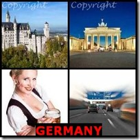 GERMANY- 4 Pics 1 Word Answers 3 Letters