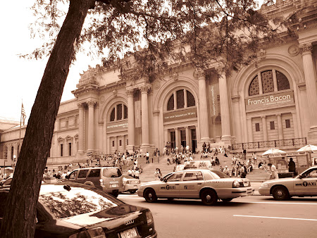 Museums of New York: Outside the Metropolitan Museum