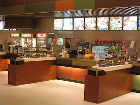 The Toyosu Theater Snack Bar - I challenge you to spot the slightest spec of anything that shouldn't be there